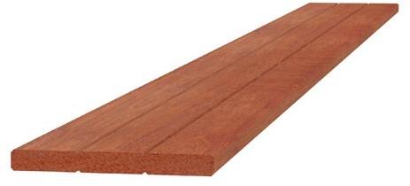 Hardhouten geschaafde plank 1,5x14,5x400cm (W14023)