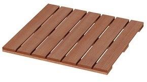 Hardhouten tegel 50x50cm latdikte ca 12mm (931850)