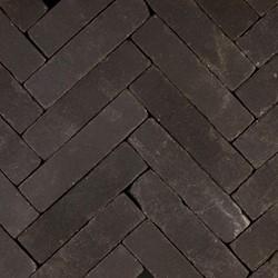 Hollandse streken waalformaat 5x20x6cm Betuwe zwart