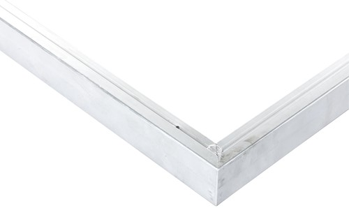 Daktrim aluminium recht tb.v. maximale dakmaat 905x450cm (40099)