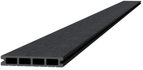 Composiet dekdeel 2,3x14,5x420cm antraciet (W23465)