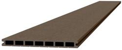 Composiet dekdeel 2,3x25x420cm bruin