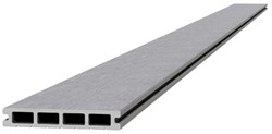 Composiet dekdeel 2,3x14,5x420cm lichtgrijs