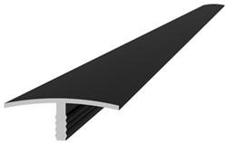 Aluminium overgangsprofiel 4,0x1,8x300cm antraciet