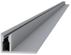 Aluminium onderprofiel 4,0x2,2x300cm