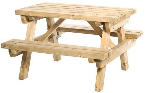Junior picknicktafel Sven, bladmaat 89x52cm (11007)