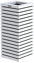 Elan Bloembak, 40x40x93cm wit