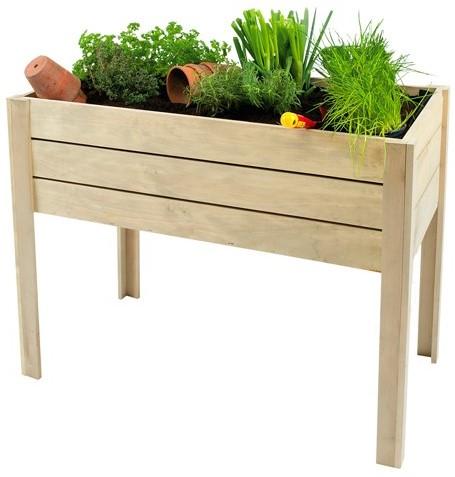 Minigarden op poten grenen 80x100x50cm (W991504)