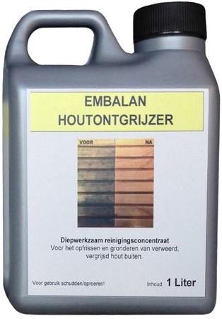 Houtontgrijzer Embalan, 1 liter