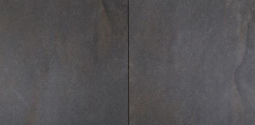 Cera4line Light 60x60x4cm Flamed Black/Brown zwart/bruin