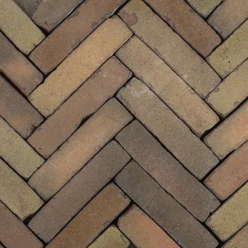Antic Bricks waalformaat 5x20x6,5cm Antiekbont zand/rood/bruin