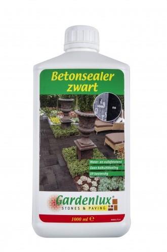 Gardenlux betonsealer Zwart impregnering met een kleur versterkende werking