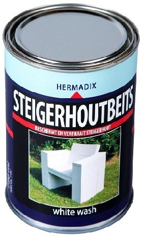Steigerhoutbeits 750 ml White wash
