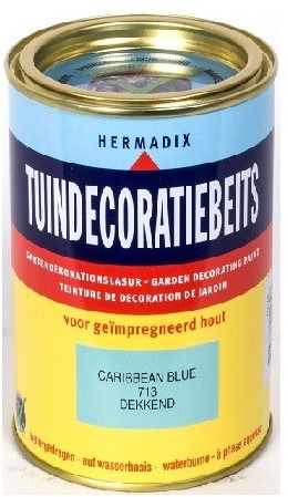 Tuindecoratiebeits 713 750 ml Caribbean blue