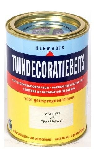 Tuindecoratiebeits 765 750 ml Dover wit