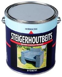 Steigerhoutbeits 2500 ml antraciet