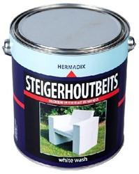 Steigerhoutbeits 2500 ml White wash