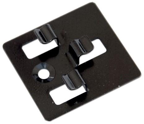 Tussenclips RVS t.b.v. montage composiet dekdelen inclusief schroeven, per doos a 100 stuks (W23545)