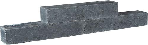 Tegula Palissaden 11x14x60cm zwart