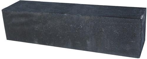 Palissade Block 120x15x15cm Zwart