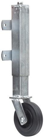 Steunwiel t.b.v. houten poort, geveerd (W19074)