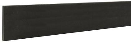 Betowood betonplaat 3,5x24,0x225cm antraciet, gecoat (W32125)