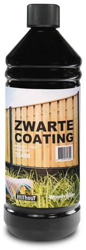Betoncoating, zwart, in plastic fles (W32486)