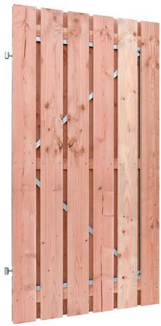 Douglas fijnbezaagd plankendeur op verstelbaar stalen frame, 15mm 100x190cm onbehandeld (W42045)