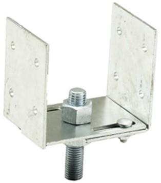 Verstelbare Pergolasteun set 85mm - 195mm (1001325)