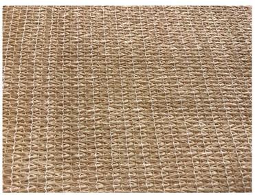 Harmonicadoek HDPE 290x300cm incl bevestigingsmaterialen, zand (W27100)