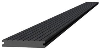Composiet dekdeel massief 2,2x14,5x420cm antraciet (W23665)