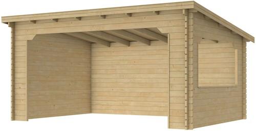 Paviljoen Kolgans 400. 400x350cm onbehandeld (W51470)