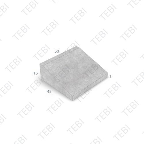 Inritband 45x50x16cm grijs tussen