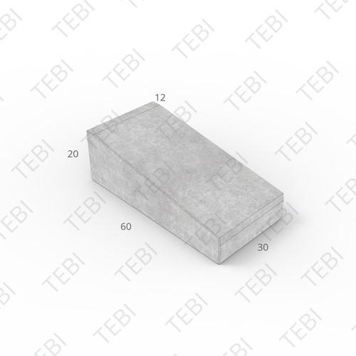 Inritband 60x30x20cm grijs tussen
