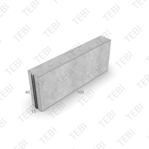 Opsluitband 15x40x100cm grijs