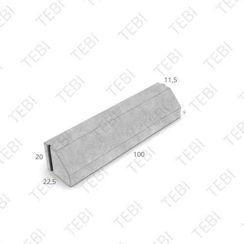 RWS-band 11/22x20x100cm grijs