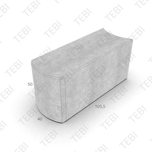 Bloembakschakelband 40x50x100cm grijs