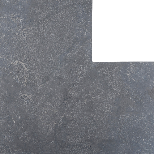 Asian Bluestone vijverrand hoek blauw gezoet 3x30x50/50cm