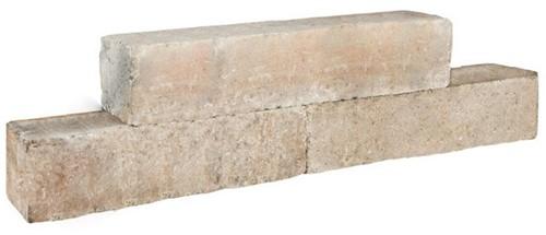Palinoblock getrommeld 60x15x15cm lime