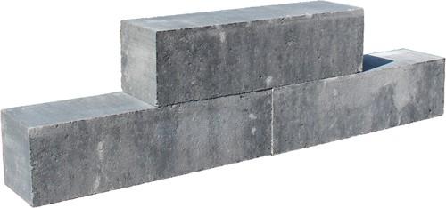 Classico Block 45x12,5x12,5cm grijs/zwart