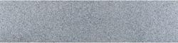 Graniet vijverrand Dark Grey Flamed donkergrijs 3x25x100cm