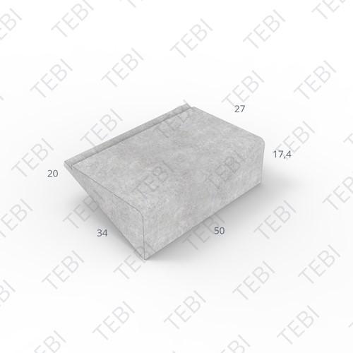Traprede Repeteer 34x18x50cm grijs