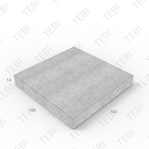 Verhardingsplaat ZHR 100x100x14cm
