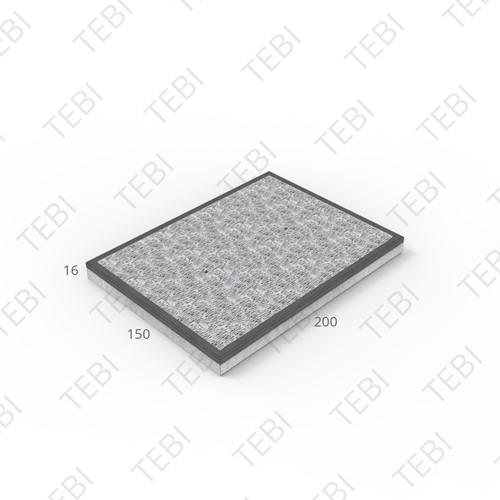 Stelconplaat Komo MHR 200x150x16cm