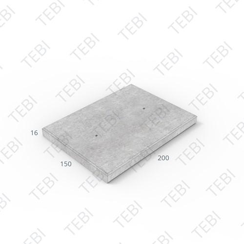 Transconplaat C50/60 ZHR EN 200x150x16cm Glad