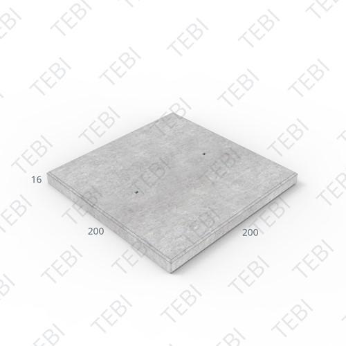 Transconplaat ZHR B60 DN 200x200x16cm Glad