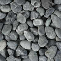 Beach Pebbles zwart 40/60mm