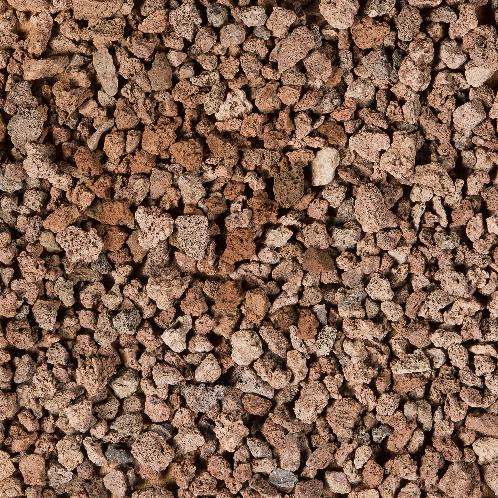 Lava Split  8/16mm bruin/rood