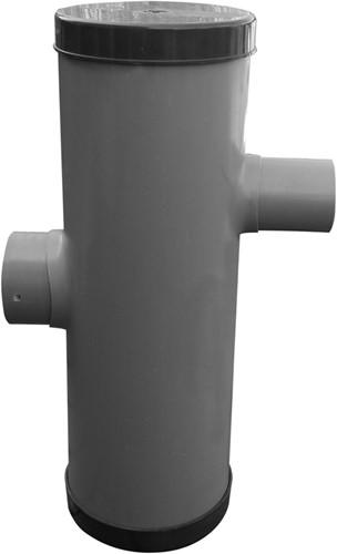 Hydroblob Zandvangput met loofscheider ZVP-PD 615h Ø20cm,in-enuitlaatØ100mm