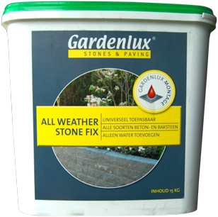 Gardenlux All Weather Stonefix 15kg emmer